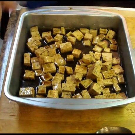 How to Make the Best Tofu! Make it like Noodles Style Tofu. Vegetarian Style!