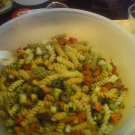 Italian Pasta Salad – With Vegan Pepperoni! – Vegetarian! – Deli Style!