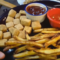 How to Make Tofu Nuggets, Mock Chicken Nuggets with Baked Fries